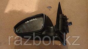 Зеркало левое Chevrolet Cruze