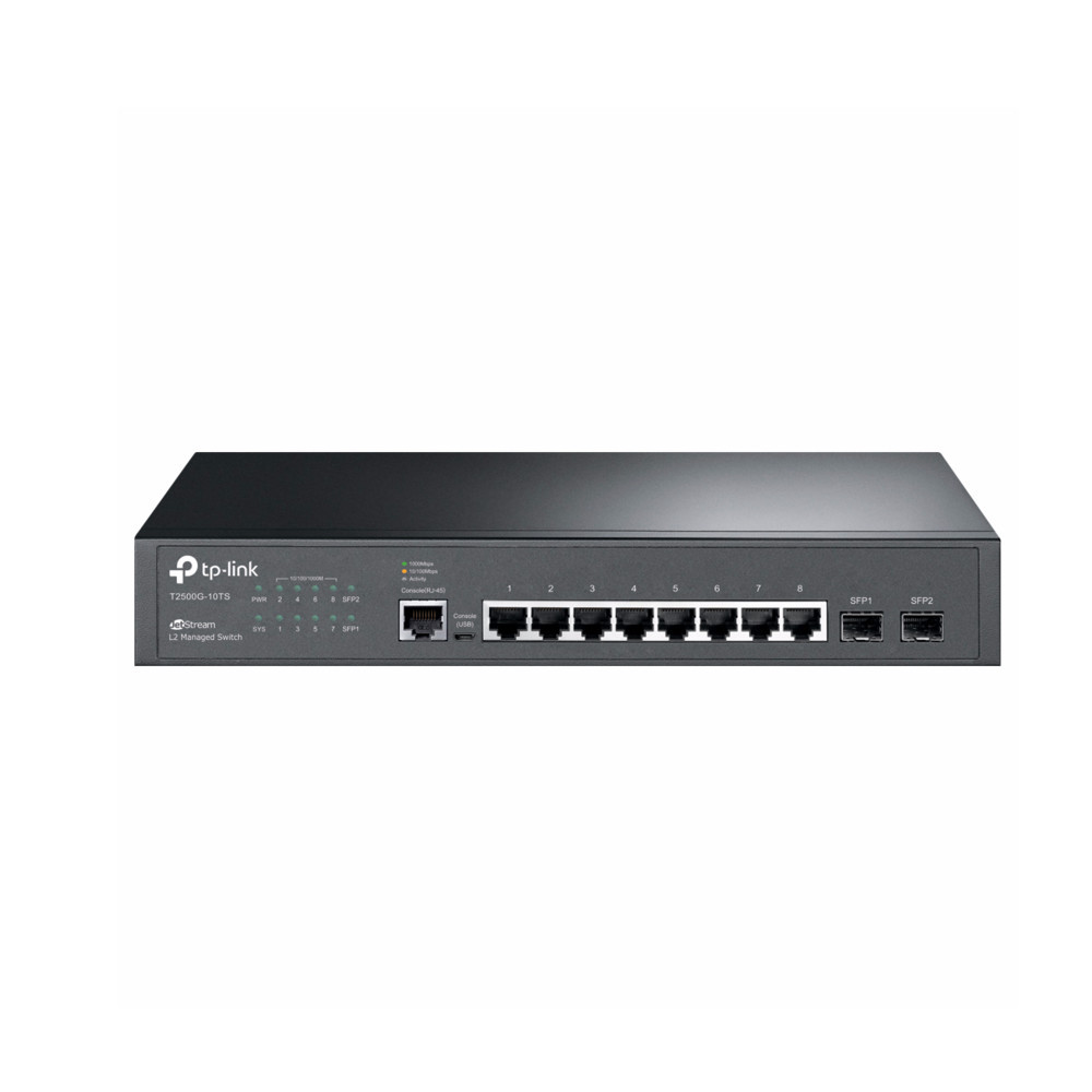 10-портовый коммутатор TP-Link T2500G-10TS