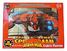 "Кубики пазлы ""Человек паук"" (Spider-man)"