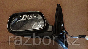 Зеркало левое Toyota Caldina ST210