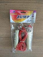 Скакалка с деревянными ручками Jump