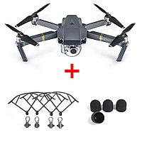 Квадрокоптер (дрон) DJI MAVIC PRO (+ в подарок аксессуары на 20000 тг)
