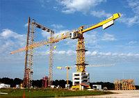 Монтаж башенных кранов