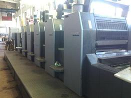 Heidelberg SM 74-5 P+L б/у 2006г - 5-красочная печатная машина c лаковой секцией