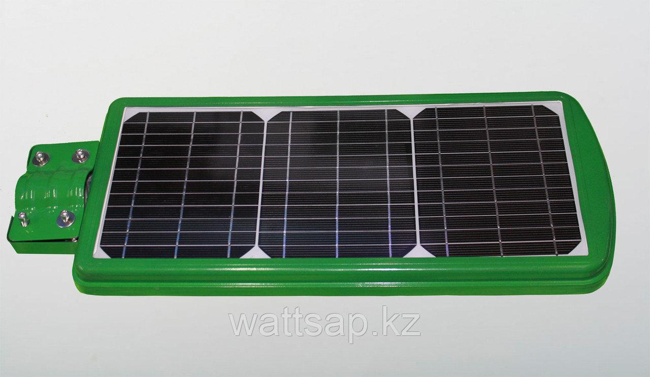 Прожектор на солнечных батареях Zesol 40 W с датчиком движения