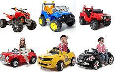 Детские электромобили и электромотоциклы