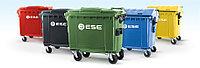 Контейнеры для ТБО (мусора) 120-1100 литров пластиковые. Германия!