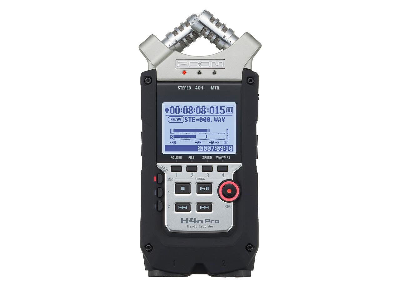 Профессиональный аудиорекордер Zoom H4n Pro - фото 1