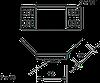Угловой соединитель 60 мм WKV 60 FS
