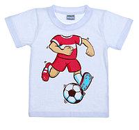 "Футболка детская Collorista ""Футболист"", рост 86-92 см (28), 1-2 года"