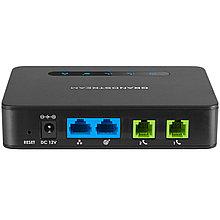 Grandstream HT812 Аналоговый телефонный адаптер 2xFXS, 1xLAN, 1xWAN, (1GbE)Gigabit Ethernet