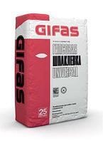 Гипсовая шпаклевка GIFAS UNIVERSAL 25 кг