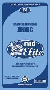 Шпатлевка финишная (белая) Big Elite
