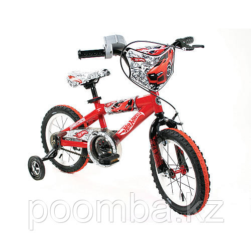 "Детский велосипед 14"" с символикой Хотвилс HotWheels"