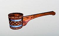 Ковш-черпак 1,5 л. бондарный с горизонтальной ручкой, 42 см