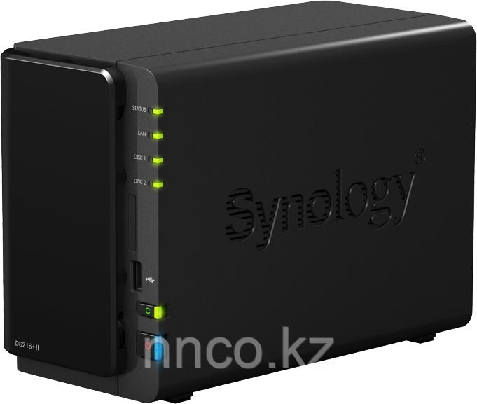 Synology DS216 2xHDD NAS-сервер «All-in-1»