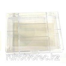 930520 Органайзер для хранения мелочей с 7 отделениями, 11,8*9,1*2,1 см, Hobby&Pro