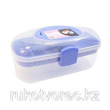 930528 Контейнер для хранения с вынимаемым вкладышем, 28,5*15,4*13,1 см, Hobby&Pro