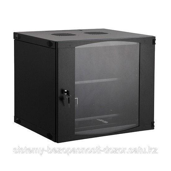 Шкаф настенный, SHIP, EW5409.100, EW серия, 19'' 9U, 540*450*460 мм, Ш*Г*В, IP20, Чёрный