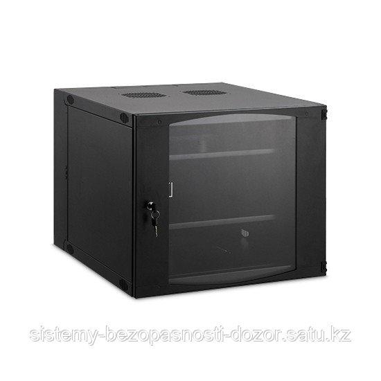 Шкаф настенный, SHIP, VP5412.100, VP серия, 19'' 12U, 570*450*635 мм, Ш*Г*В, IP20, Чёрный