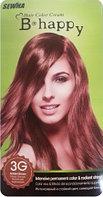 B-happy Hair Color Cream Стойкая крем-краска для волос / 3G (Золотисто-коричневый)