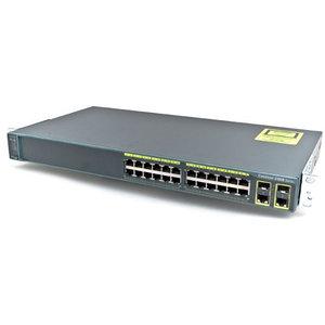 Коммутатор Cisco Catalyst 2960 Plus (WS-C2960+24TC-L)
