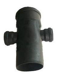 Крестовина канализ. ПВХ 100*50*50*90
