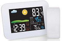 AMTAST AW005 Термометр метеостанция с цветным дисплеем и беспроводным датчиком, фото 1