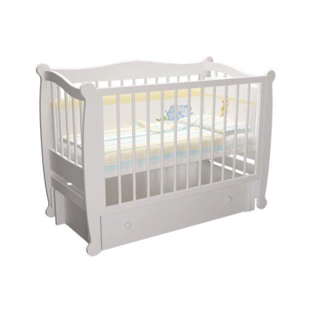 Детская кроватка Алиса продольный маятник в ассортименте