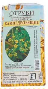 Отруби «Лекарник плюс - камнедробящие» (с мареной красильной) 150 гр