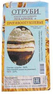 Отруби «Лекарник плюс - противоопухолевые» (с чагой) 150 гр