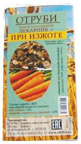Отруби «Лекарник плюс – при изжоге» (с аиром) 150 гр