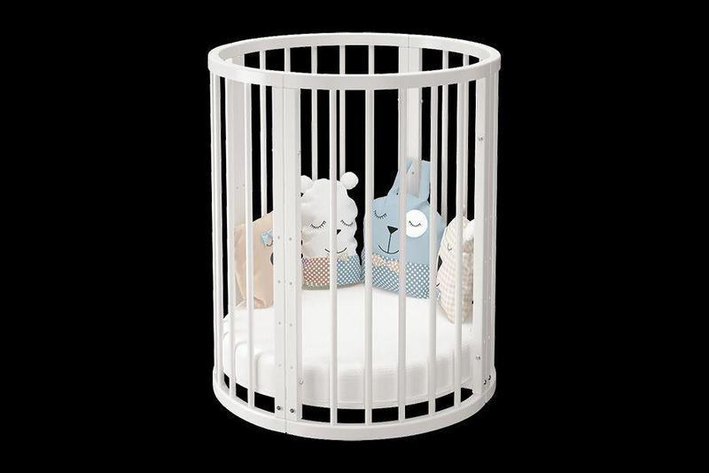 Детская кроватка 8 в 1 Эстель