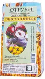 Отруби «Лекарник плюс - глистогонные» (лесной орех, пижма) 150 гр