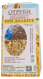 Отруби «Лекарник плюс – при диабете» (лен, цикорий) 150 гр