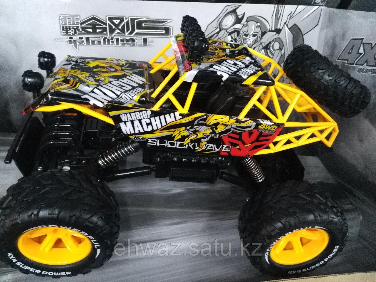 Радиоуправляемая машинка Trans Mars 4WD, маштаб 1:12