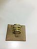 Кольцо с цирконом / жёлтое золото - 17 размер, фото 4