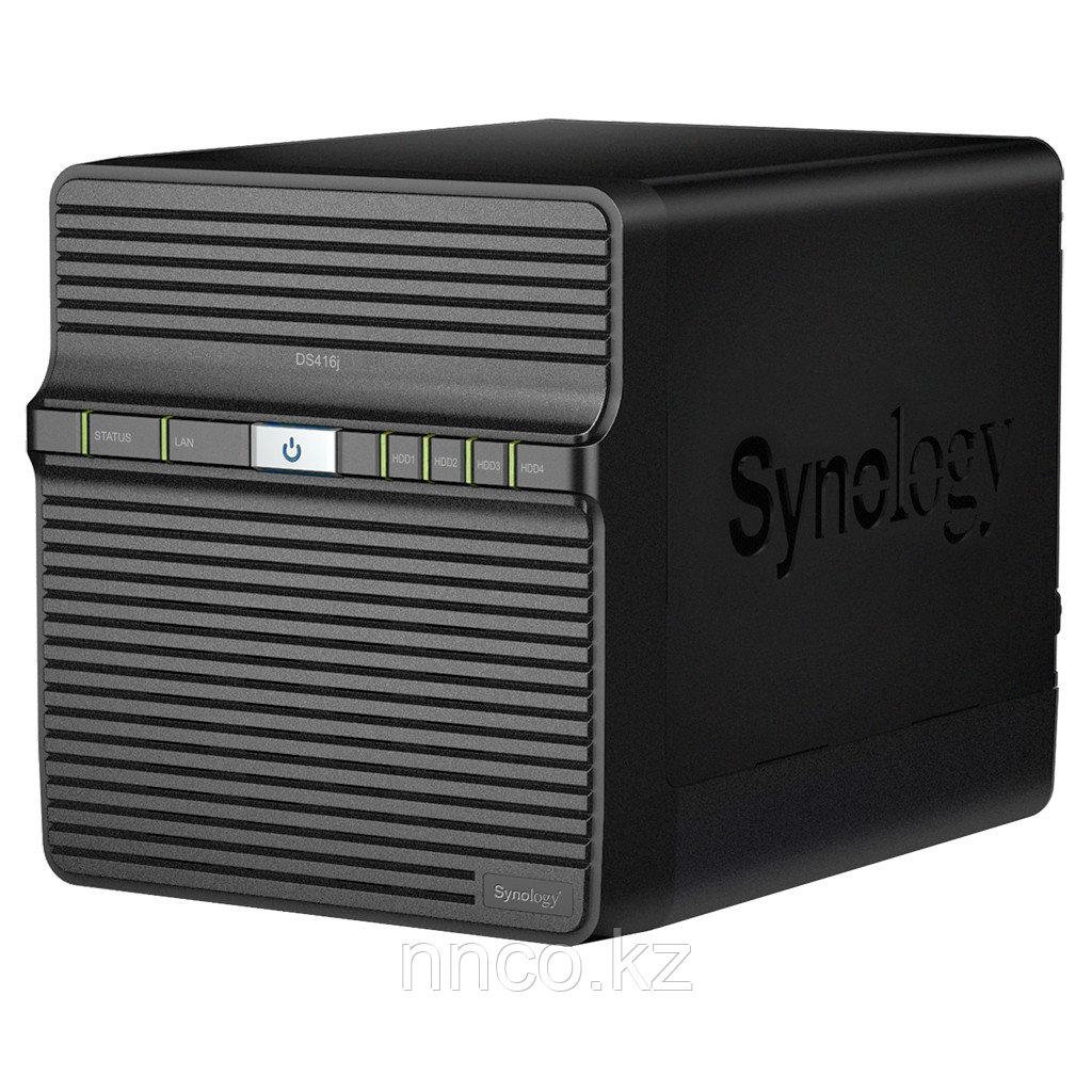 Synology DS416j  4xHDD NAS-сервер для дома и бизнеса