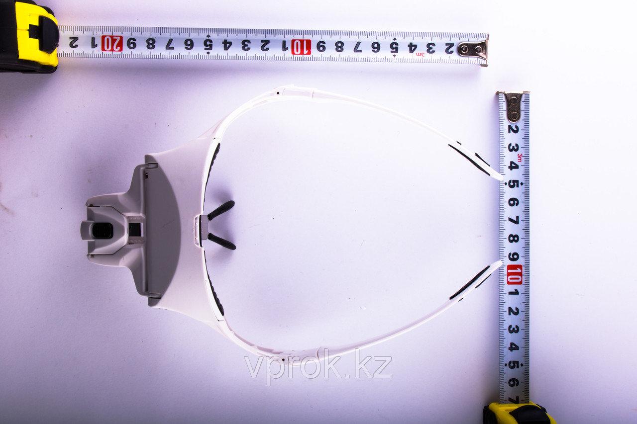 Лупа - очки с подсветкой со сменными линзами - фото 4