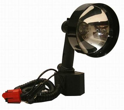 Фонарь-прожектор LIGHTFORCE ENFORCER-140-VDE-LED (12V) 160.000cd (50м-1 Lux) c аккумулятором R34907