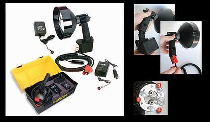 Фонарь-прожектор-комплект LIGHTFORCE ENFORCER 170 VDE LED SET