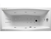 Акриловая гидромассажная ванна. Мелора (Общий массаж + массаж ног + массаж дна )