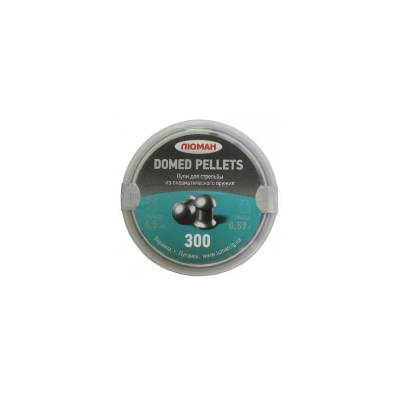 """Пуля пневм. """"Domed pellets"""", 0,57 г. 4,5 мм. (300 шт.)"""
