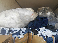 Прием  отходы синтепона текстиля ветошь х\б ткани.
