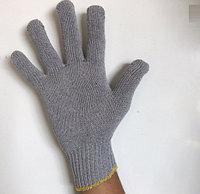 Перчатки рабочие х/б Серые