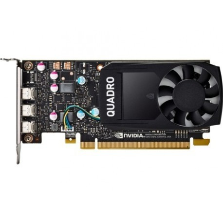 HP 1ME43AA видеокарта NVIDIA Quadro P400 2GB Kit w/2 Adapters