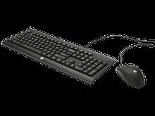 HP комплект клавиатура и мышь проводные USB C2500 (H3C53AA)