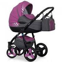 Детская коляска Riko Niki 3 в 1 цвет 4(magenta)