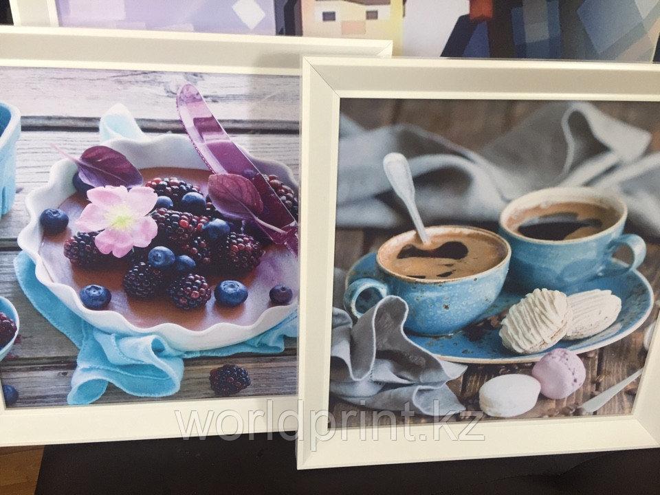 Картины на заказ с багеом в столовую