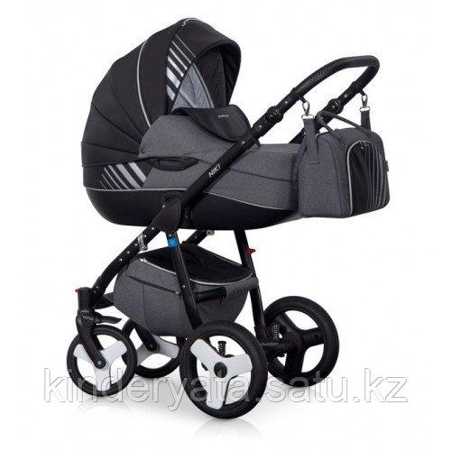 Детская коляска Riko Niki 3 в 1 цвет 7(carbon)